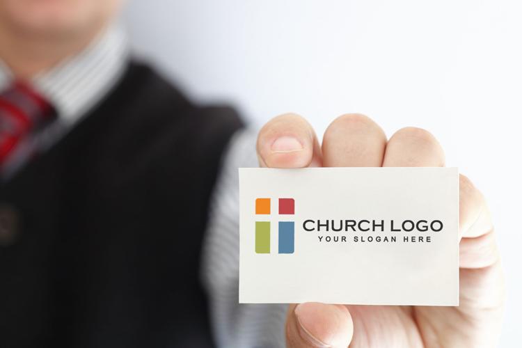 mockup of free church logo