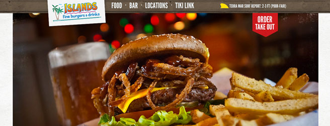 restaurant website #10