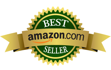 green and gold amazon best seller logo