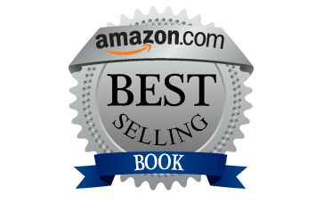 blue and silver amazon best seller logo