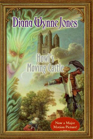 Howl's Moving Castle by Diana Wynne Jones- book covers from the 80s