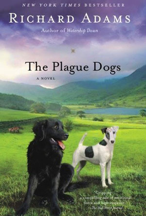 The Plague Dogs- book covers from the 70s
