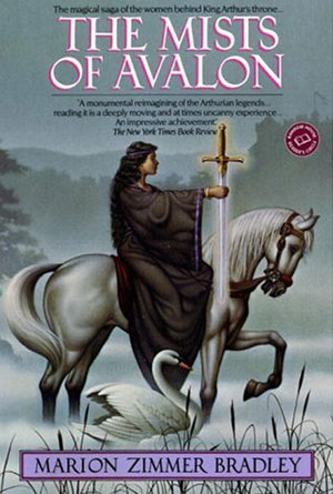 The Mists of Avalon by Marion Zimmer Bradley - book covers from the 80s