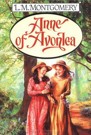 Anne of Avonlea - Green Book Cover Design