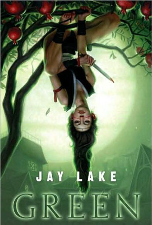 Jay Lake Green Book Cover Design