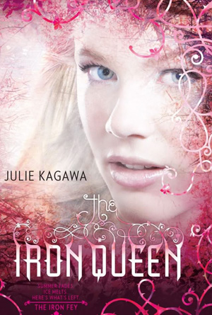 Iron Queen, Julie Kagawa- Pink Cover Design