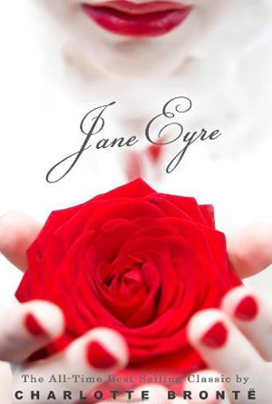 Jane Eyre by Charlotte Bronte - White Cover Design