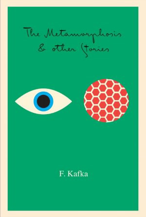 Metamorphasis & Other Stories- F. Kafka Green Book Cover Design