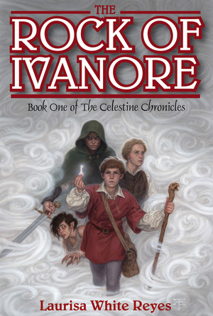 The Rock of Ivanore by Laurisa White Reyes - White Cover Design