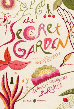 Secret Garden, Frances Hodgson Burnett - Pink Cover Design