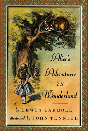 Alice's Adventures in Wonderland by Lewis Carroll - Book Covers of Literary Classics from the 19th Century
