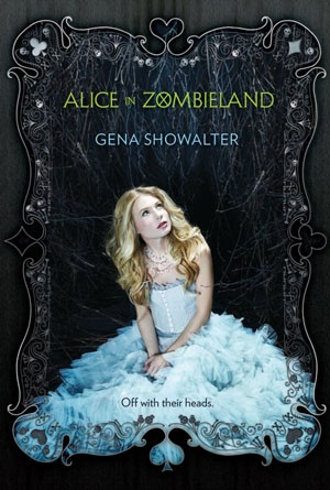 Alice in Zombieland by Gena Showalter - Black Book Covers Designs