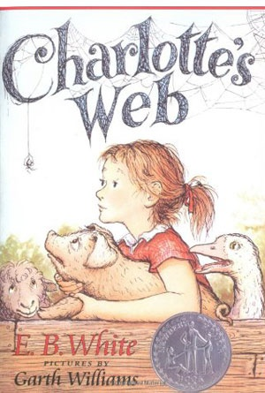 Charlotte's Web by E.B. White - Book Covers of Literary Classics from the 20th Century
