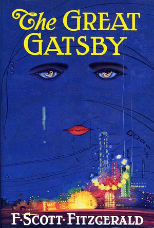 The Great Gatsby by F. Scott Fitzgerald - Book Covers of Literary Classics from the 20th Century