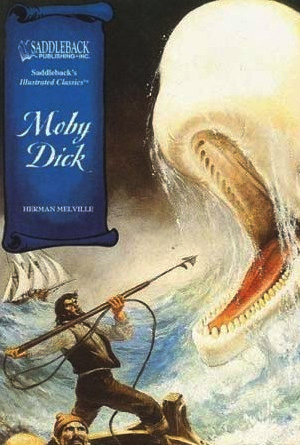 Moby Dick by Herman Melville - Book Covers of Literary Classics from the 19th Century