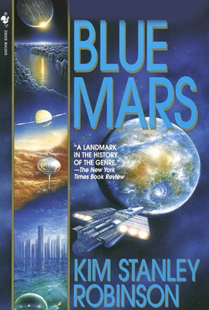 Blue Mars by Kim Stanley Robinson - Blue Book Covers Designs