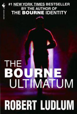 The Bourne Ultimatum by Robert Ludlum - Action Book Covers Designs