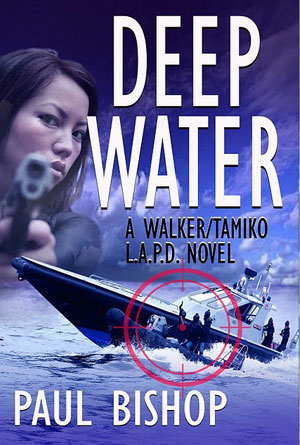 Deep Water by Paul Bishop - Action Book Covers Designs