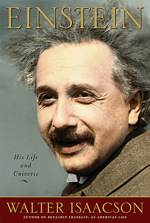 Einstein by Walter Isaacson - Biography Book Covers Designs