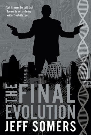 The Final Evolution by Jeff Somers - Action Book Covers Designs