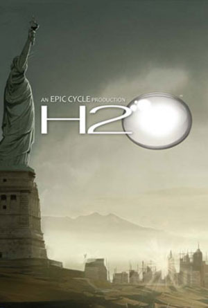 H2O by Brannen Hollingsworth - Graphic Novel Cover Designs