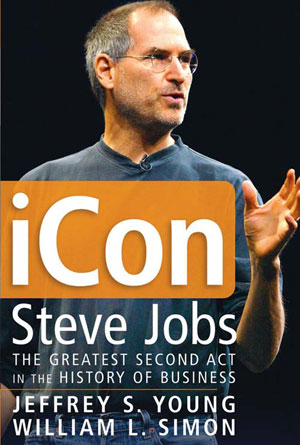Steve Jobs iCon by Jeffrey S. Young and William L. Simon - Biography Book Covers Designs