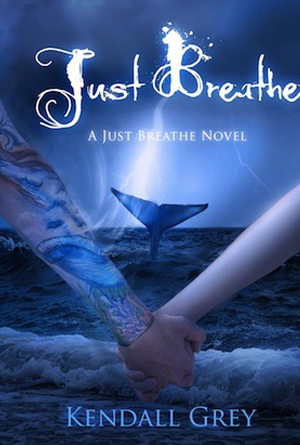Just Breathe by Kendall Grey - Blue Book Covers Designs