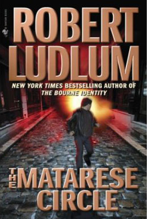 The Matarese Circle by Robert Ludlum - Action Book Covers Designs