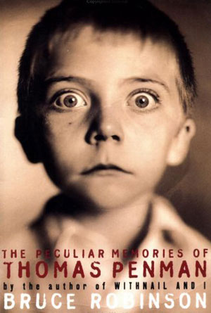 The Peculiar Memories of Thomas Penman by Bruce Robinson - Humor Book Cover Designs