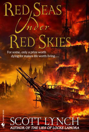 Red Seas Under Red Skies by Scott Lynch - Red Book Covers Designs