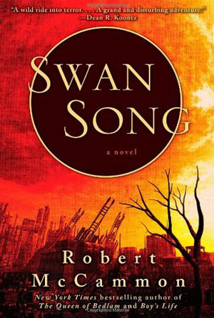 Swan Song by Robert McCammon - Post-Apocalyptic Book Covers Designs