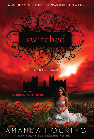 Switched by Amanda Hocking - Red Book Covers Designs