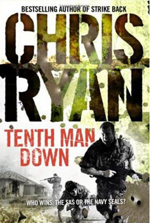 Tenth Man Down by Chris Ryan - Action Book Covers Designs