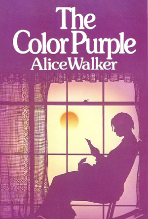 The Color Purple by Alice Walker - Purple Book Covers Designs