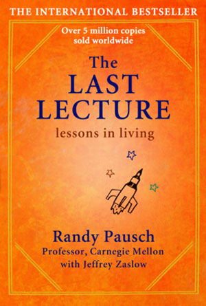 The Last Lecture by Randy Pausch - Orange Book Covers Designs