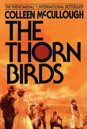 The Thorn Birds by Colleen McCullough - Orange Book Covers Designs