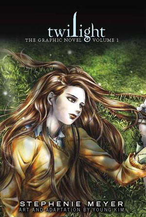 Twilight Graphic Novel by Stephenie Meyer - Graphic Novel Cover Designs