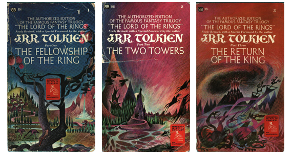 Lord Of The Rings Book Cover Original