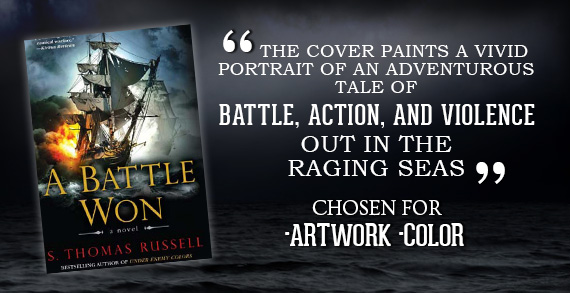 A Battle Won by S. Thomas Russell- Ocean Adventure Book Covers