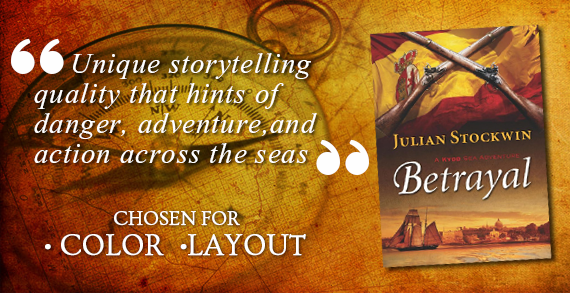 Betrayal: A Kydd Sea Adventure by Julian Stockwin- Ocean Adventure Book Covers
