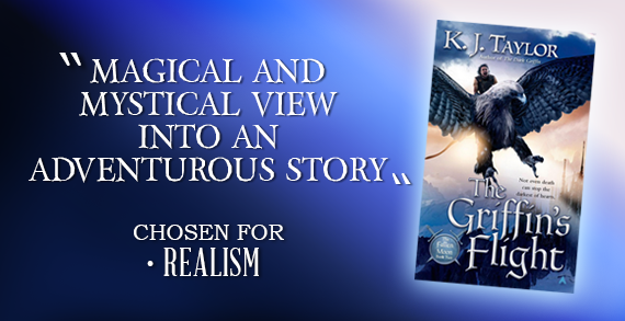 The Griffin's Flight (The Fallen Moon, Book 2) by K.J. Taylor
