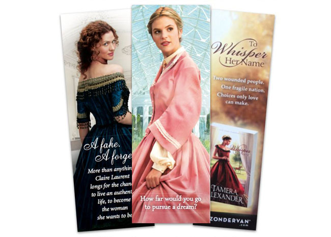 Free Author Bookmark Template and Bookmark Ideas