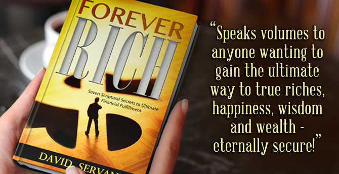 Free Christian book Forever Rich by David Servant