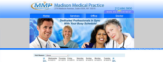 Best Doctors Websites