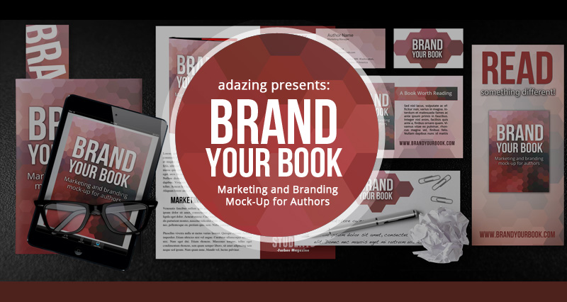 Author Marketing and Branding Mock-up