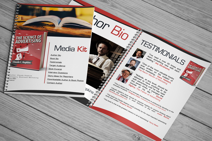 author media kit for book promotion