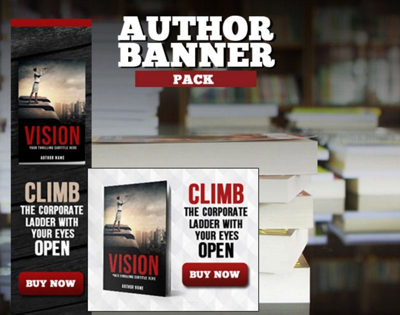 Free Author Banner Ads - Adazing