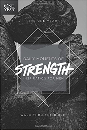 Devotions for Men # 4 - The One Year Daily Moments of Strength - Inspiration for Men
