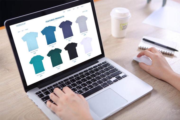 T-Shirt-Website