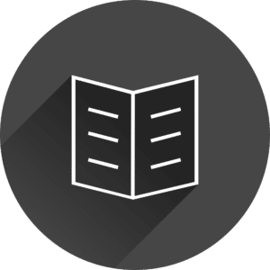 Book Icons: book outline open